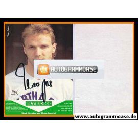 Autogramm Fussball | Hertha BSC Berlin | 1989 | Theo GRIES