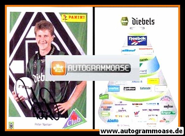 Autogramm Fussball | Borussia Mönchengladbach | 1995 | Peter NIELSEN