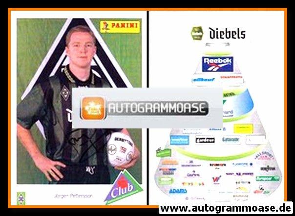 Autogramm Fussball | Borussia Mönchengladbach | 1995 | Jörgen PETTERSSON