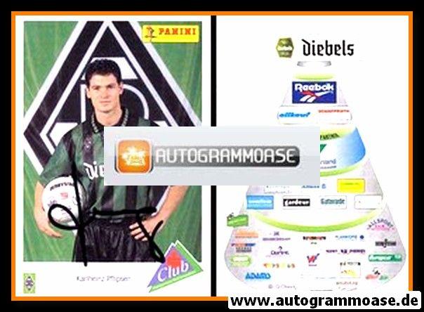 Autogramm Fussball | Borussia Mönchengladbach | 1995 | Karl-Heinz PFLIPSEN