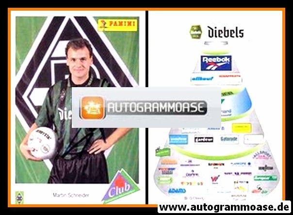 Autogramm Fussball   Borussia Mönchengladbach   1995   Martin SCHNEIDER