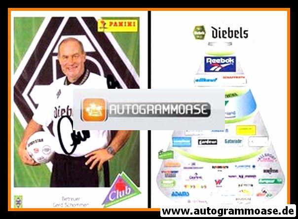 Autogramm Fussball | Borussia Mönchengladbach | 1995 | Gerd SCHOMMEN