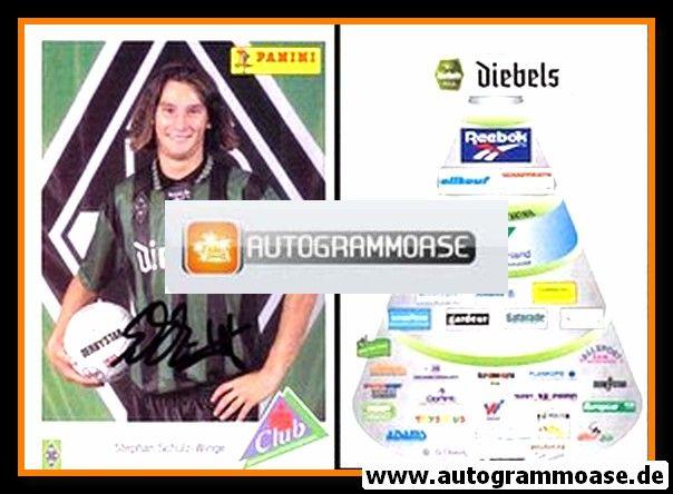 Autogramm Fussball   Borussia Mönchengladbach   1995   Stephan SCHULZ-WINGE