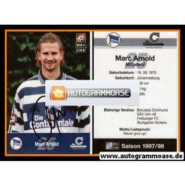 Autogramm Fussball | Hertha BSC Berlin | 1997 | Marc ARNOLD
