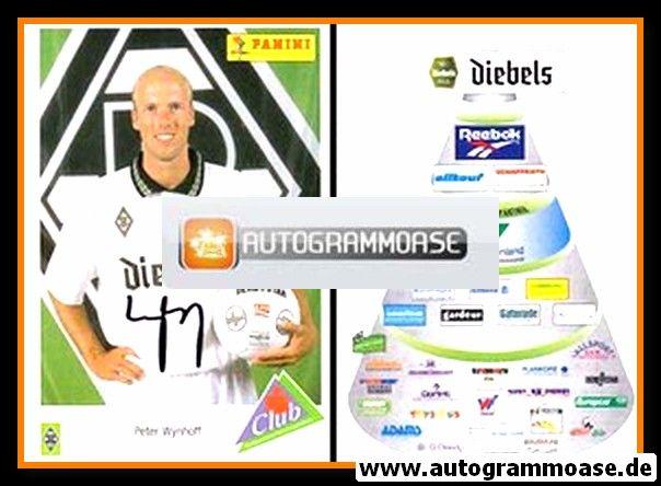 Autogramm Fussball | Borussia Mönchengladbach | 1995 | Peter WYNHOFF