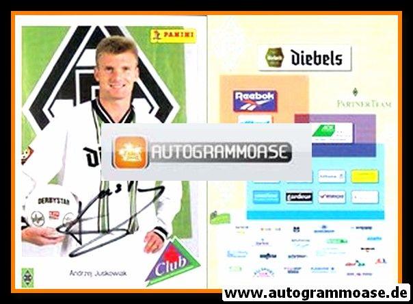 Autogramm Fussball | Borussia Mönchengladbach | 1996 | Andrzej JUSKOWIAK