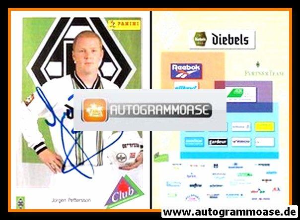 Autogramm Fussball | Borussia Mönchengladbach | 1996 | Jörgen PETTERSSON