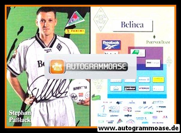 Autogramm Fussball | Borussia Mönchengladbach | 1997 | Stephan PASSLACK