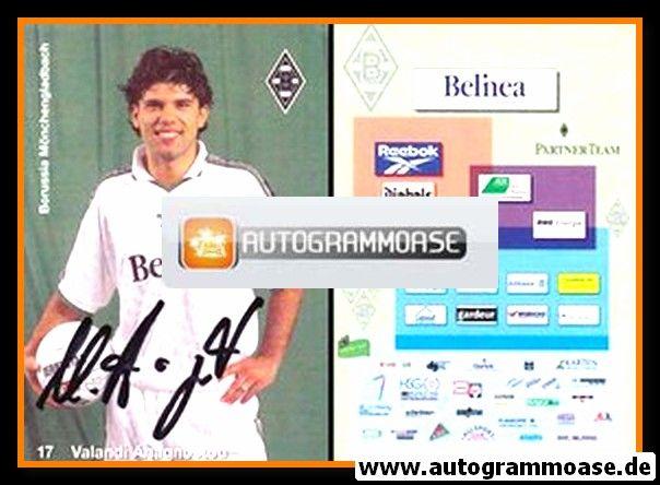 Autogramm Fussball | Borussia Mönchengladbach | 1998 | Valandi ANAGNOSTOU
