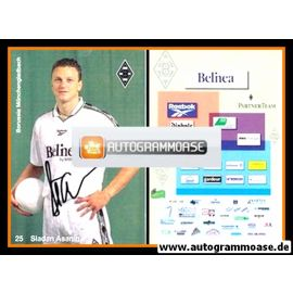 Autogramm Fussball | Borussia Mönchengladbach | 1998 | Sladan ASANIN