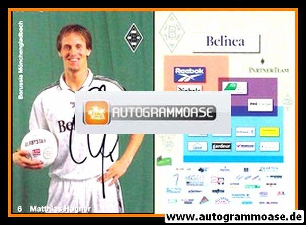 Autogramm Fussball | Borussia Mönchengladbach | 1998 | Matthias HAGNER