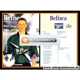 Autogramm Fussball | Borussia Mönchengladbach | 1999 | Nico FROMMER
