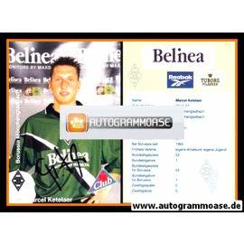 Autogramm Fussball | Borussia Mönchengladbach | 1999 | Marcel KETELAER