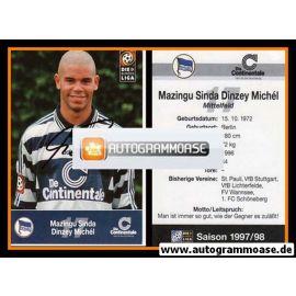 Autogramm Fussball | Hertha BSC Berlin | 1997 | Michel DINZEY