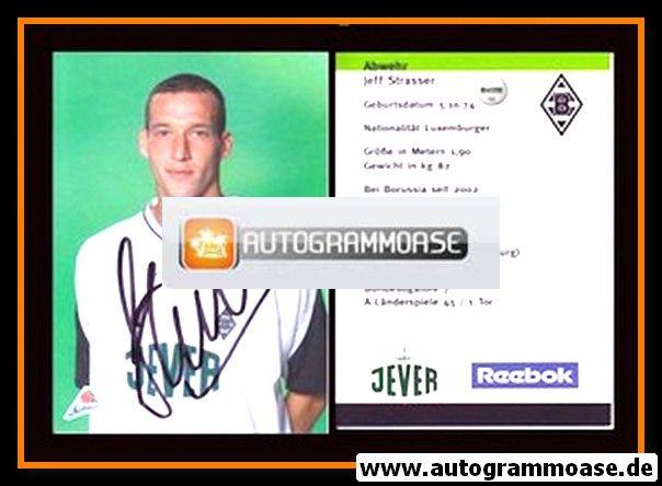 Autogramm Fussball | Borussia Mönchengladbach | 2002 | Jeff STRASSER