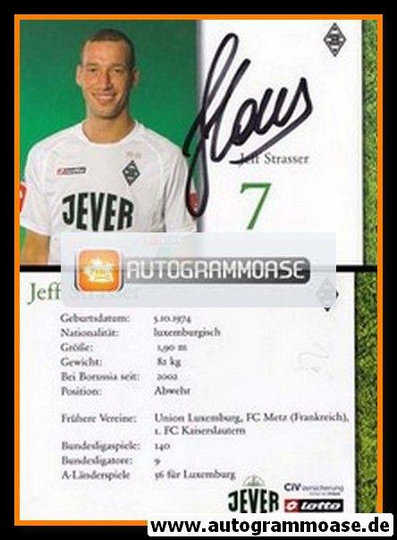 Autogramm Fussball   Borussia Mönchengladbach   2004   Jeff STRASSER