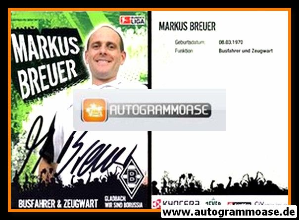 Autogramm Fussball   Borussia Mönchengladbach   2006   Markus BREUER