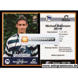Autogramm Fussball | Hertha BSC Berlin | 1997 | Michael HARTMANN