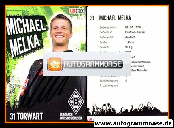 Autogramm Fussball | Borussia Mönchengladbach | 2006 | Michael MELKA
