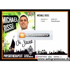Autogramm Fussball | Borussia Mönchengladbach | 2006 | Michael RISSE