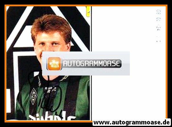 Autogramm Fussball   Borussia Mönchengladbach   2001 Foto   Peter NIELSEN (Hochformat)