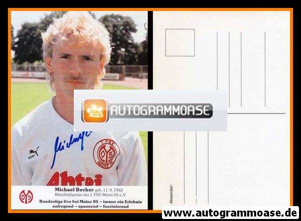 Autogramm Fussball   FSV Mainz 05   1988   Michael BECKER