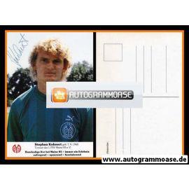 Autogramm Fussball | FSV Mainz 05 | 1988 | Stephan KUHNERT