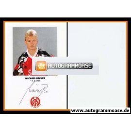 Autogramm Fussball   FSV Mainz 05   1991   Michael BECKER