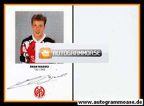 Autogramm Fussball   FSV Mainz 05   1991   Äron BIAGOLI