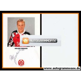 Autogramm Fussball   FSV Mainz 05   1991   Holger GREILICH