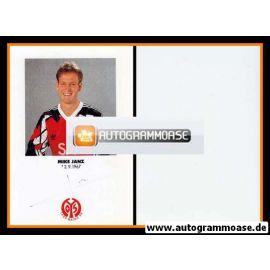 Autogramm Fussball | FSV Mainz 05 | 1991 | Mike JANZ
