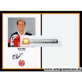 Autogramm Fussball | FSV Mainz 05 | 1991 | Olaf KIRN