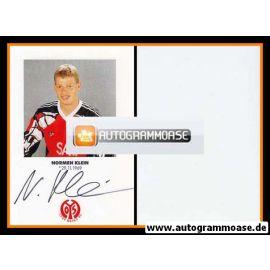 Autogramm Fussball | FSV Mainz 05 | 1991 | Normen KLEIN