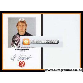 Autogramm Fussball | FSV Mainz 05 | 1991 | Stephan KUHNERT