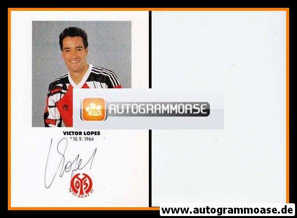 Autogramm Fussball | FSV Mainz 05 | 1991 | Victor LOPES