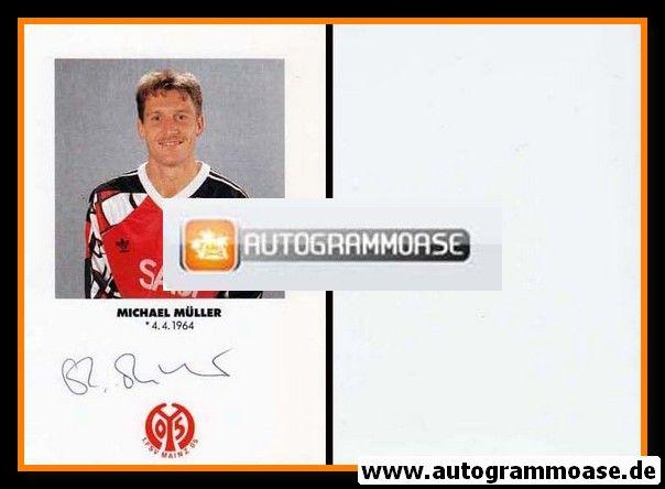 Autogramm Fussball | FSV Mainz 05 | 1991 | Michael MÜLLER