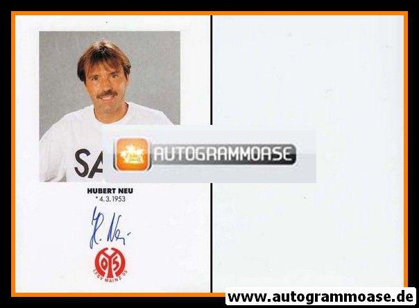 Autogramm Fussball   FSV Mainz 05   1991   Hubert NEU