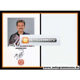 Autogramm Fussball | FSV Mainz 05 | 1991 | Manfred PETZ