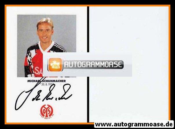 Autogramm Fussball | FSV Mainz 05 | 1991 | Michael SCHUHMACHER