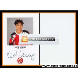 Autogramm Fussball | FSV Mainz 05 | 1991 | David WAGNER