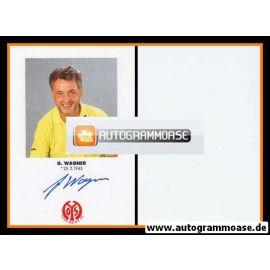 Autogramm Fussball | FSV Mainz 05 | 1991 | G. WAGNER