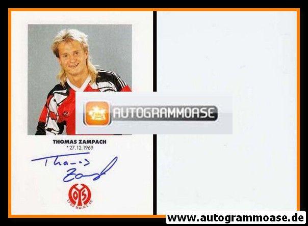 Autogramm Fussball | FSV Mainz 05 | 1991 | Thomas ZAMPACH