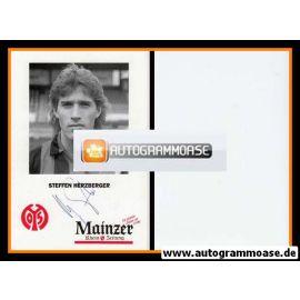 Autogramm Fussball | FSV Mainz 05 | 1992 | Steffen HERZBERGER