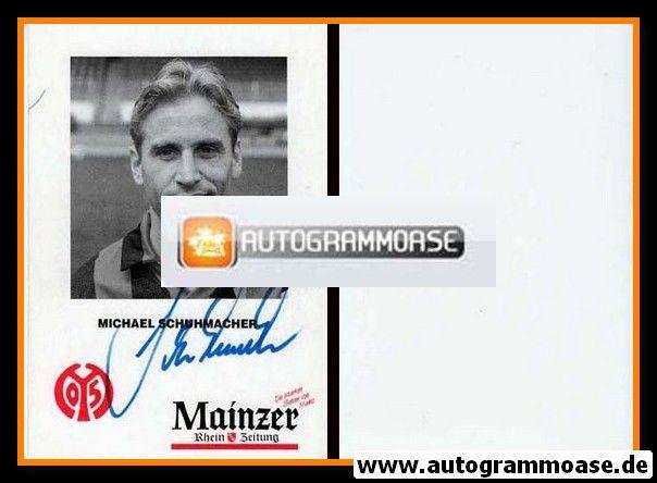 Autogramm Fussball | FSV Mainz 05 | 1992 | Michael SCHUHMACHER