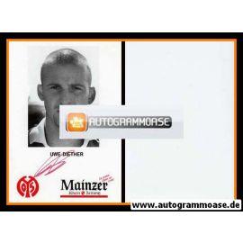 Autogramm Fussball   FSV Mainz 05   1993   Uwe DIETHER