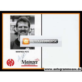 Autogramm Fussball | FSV Mainz 05 | 1993 | Manfred PETZ