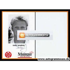 Autogramm Fussball | FSV Mainz 05 | 1993 | Guido SCHÄFER