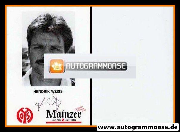 Autogramm Fussball | FSV Mainz 05 | 1993 | Hendrik WEISS