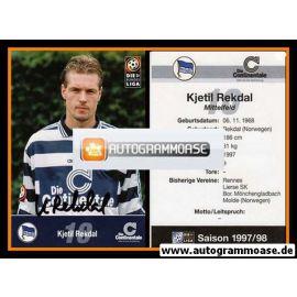 Autogramm Fussball | Hertha BSC Berlin | 1997 | Kjetil REKDAL