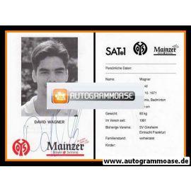 Autogramm Fussball | FSV Mainz 05 | 1994 | David WAGNER